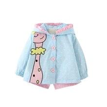 Baby Outwear 2019 Autumn Winter Baby Girls fashion cartoon h