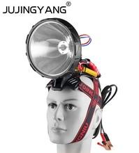 Projecteur tête xénon caché, éclairage ultra lumineux et Portable, éclairage pour la chasse ou le camping, 12V, 220W