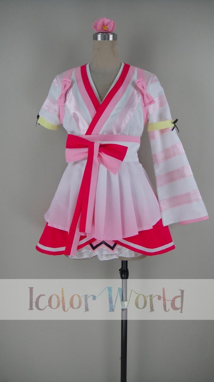 Lovelive Sunshine!Aqours Mijyuku DREAMER Sakurauchi Riko Dress Cosplay Costume
