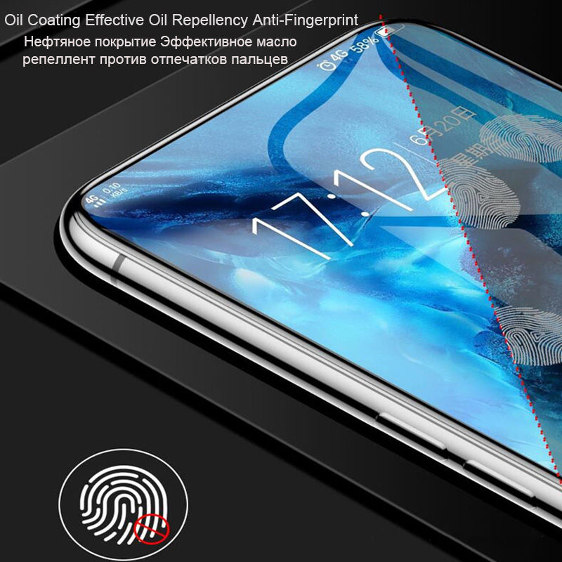Curved Soft Hydrogel Film For Xiaomi 9 8 Lite Mix 3 Max 3 PocoPhone F1 Screen Protector Film For Redmi Note 7 6 5 Note 7 Pro in Phone Screen Protectors from Cellphones Telecommunications