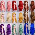 Paidian Wave Style Long Cosplay Wig Costume Party Hair Wigs 12 Colors Free Shipping