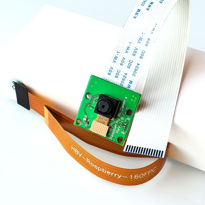 2019 raspberry pi zero câmera com 16cm cabo 5mp mini câmera de visão tamanho para raspberry pi zero w pi 0