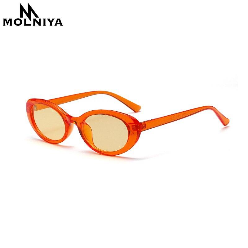 MOLNIYA Small Oval Sunglasses Ms. 2018 Designer High Quality Cool - Kledingaccessoires