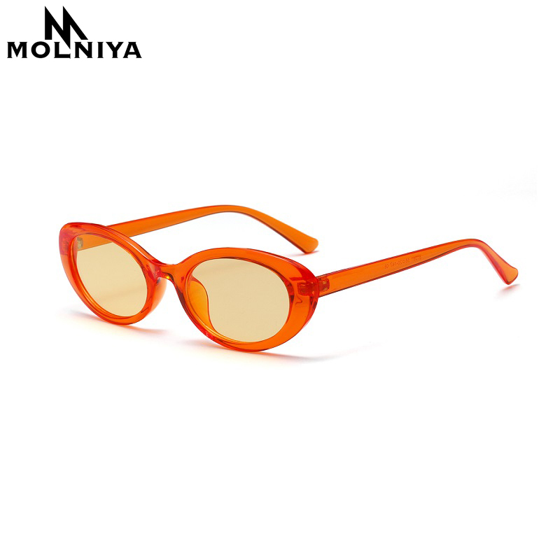 MOLNIYA Small Oval Sunglasses Ms. 2018 Designer High Quality Cool - Kledingaccessoires - Foto 1