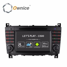 цена на HD Android 6.0 Octa 8 Core  Car DVD Radio Player GPS Navigation for Mercedes Benz C CLK CLS CLC Class W203 W209 W219 4G WIFI