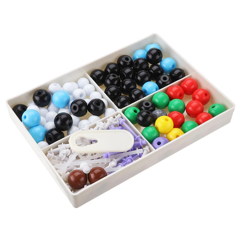 189PCS  Molecular Model Set ZX-1032A Organic Chemistry Molecules Structure Model Kits For School Teaching Research With Box