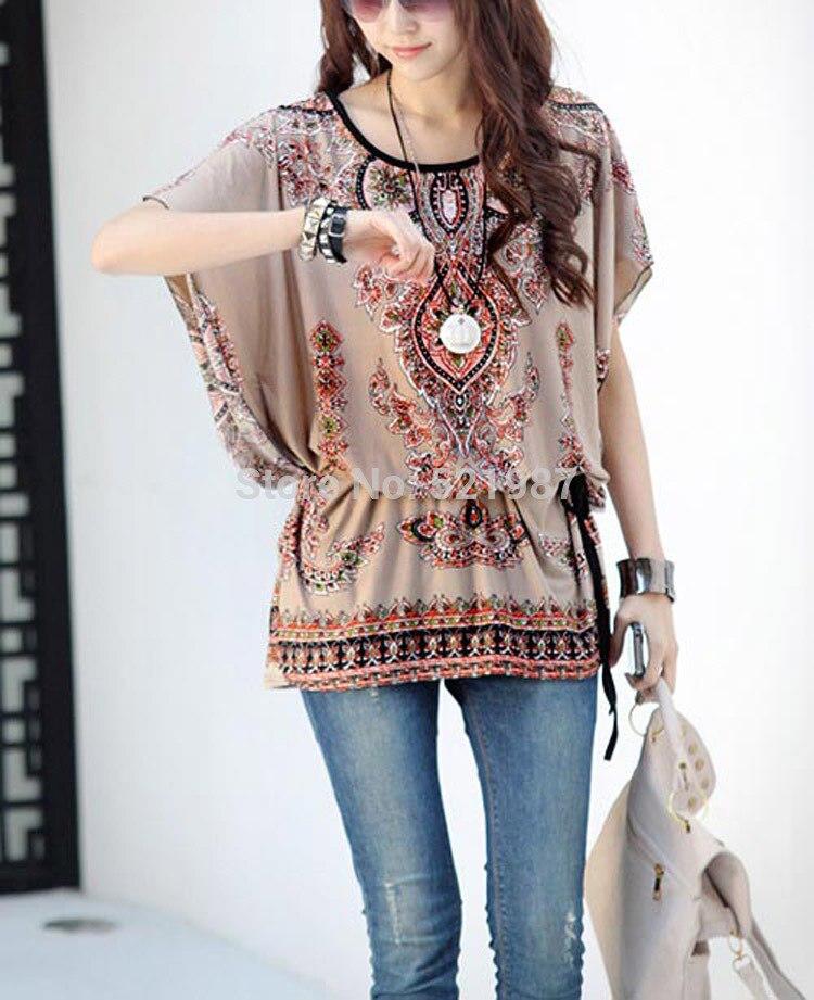 Compra blusas de estilo campesino online al por mayor de