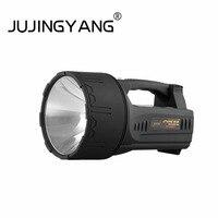 JUJINGYANG сильный свет удаленного ручной прожектор 40AH литиевая батарея зарядки водонепроницаемый ксеноновая лампа