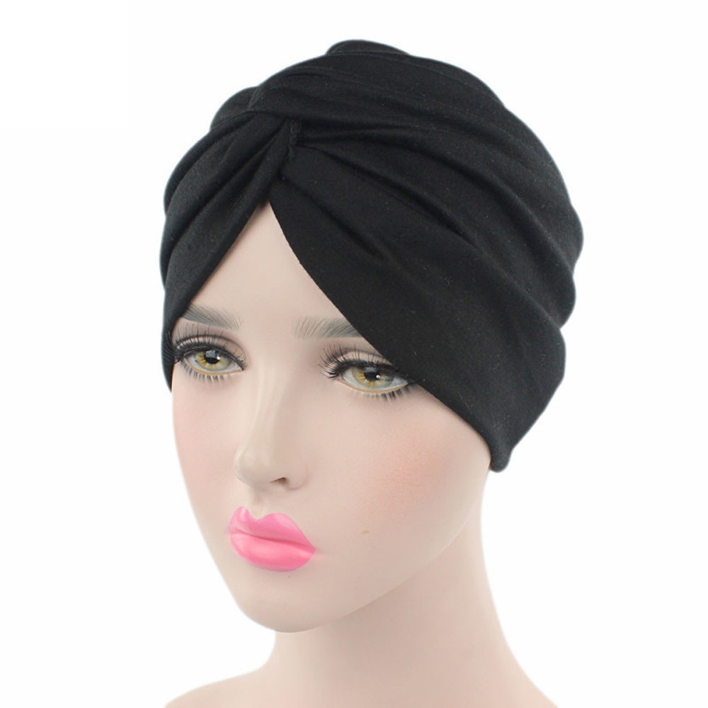 Hat Scarf Turban Head-Wrap Chemo Cancer Sombrero Women for Sun Beanie Cap Mujer Verano
