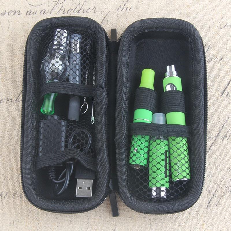 Yunkang EVOD Sigaretta Elettronica Kit portable 4 in 1 Vaporizzatore a base di erbe cera Erba Secca Penna Vape Kit Batteria integrata con atomizzatore