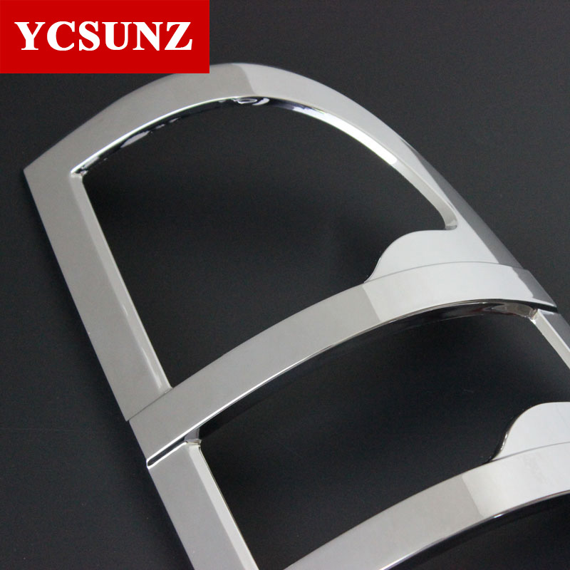 ABS Chrome Tail Lights Cover Strips Trim For Toyota Hilux Vigo 2005 - Auto Replacement Parts - Photo 4