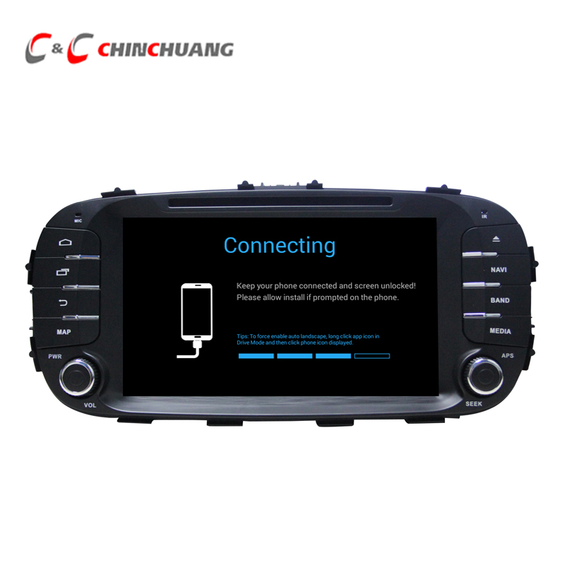 Updated ! 2G RAM 32G ROM Android 7.1 Car DVD Player GPS Navigation for KIA Soul 2014-2016 with Radio Stereo BT WiFi DVR 3G/4G ownice c500 4g sim lte octa 8 core android 6 0 for kia ceed 2013 2015 car dvd player gps navi radio wifi 4g bt 2gb ram 32g rom