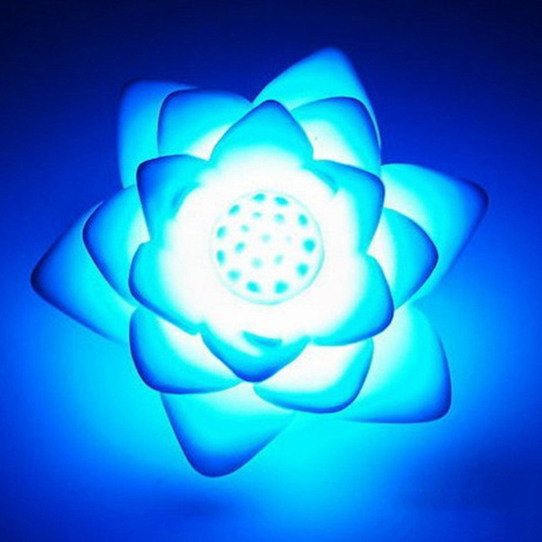 Romantic Lotus Flower Night Light Color Changing Lotus Flower LED Night Light Romantic Love Mood Lamp Decoration Top Quality