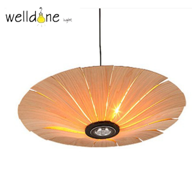 Southeast Asia Chinese Style Wooden veneer pendant Lights Living Room Restaurant Lamp Dining Room Lights chinese style iron lantern pendant lamps living room lamp tea room art dining lamp lanterns pendant lights za6284 zl36 ym