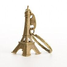 1 шт. 5 см металлические художественные изделия модели Эйфелевой башни Парижа Статуэтка из цинкового сплава сувениры для путешествий домашний декор Статуэтка Эйфелевой башни