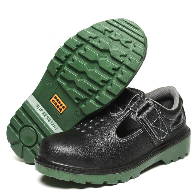 2018 Men Steel-Toe Safety Shoes Fashion Hiking Boots Construction Work Shoes 5