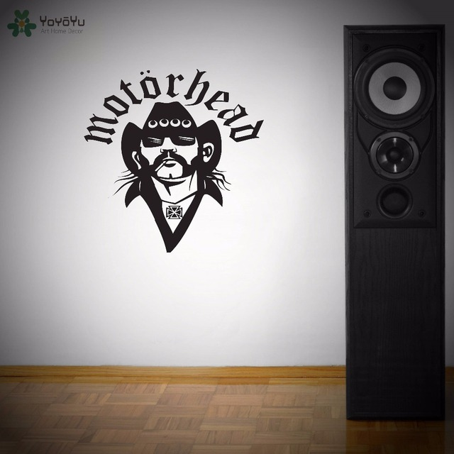 Aliexpresscom Buy YOYOYU Wall Decal Motorhead Vinyl Wall - Vinyl wall decals removable