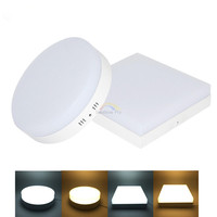 6W 12W 18W 24W LED Round Square Panel Light Surface Mounted Downlight Lighting Led Ceiling Down