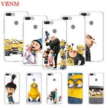 Minions Gru Agnes Printing Protect Phone Case for Huawei Honor 8X 8S 7A 7S 9 10 Lite 8A 20i V20 Y5 Y6 Y7 Y9 2019 Cover Coque