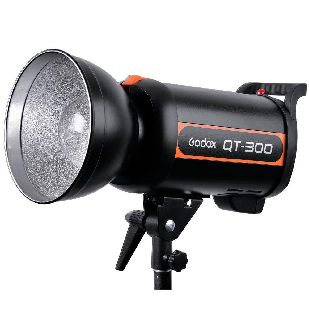 Высокоскоростная студийная вспышка Godox QT QT300 300WS, стробоскопическая вспышка, моделирующая лампа, время рециркуляции 0,05 1,2 с 300 Вт
