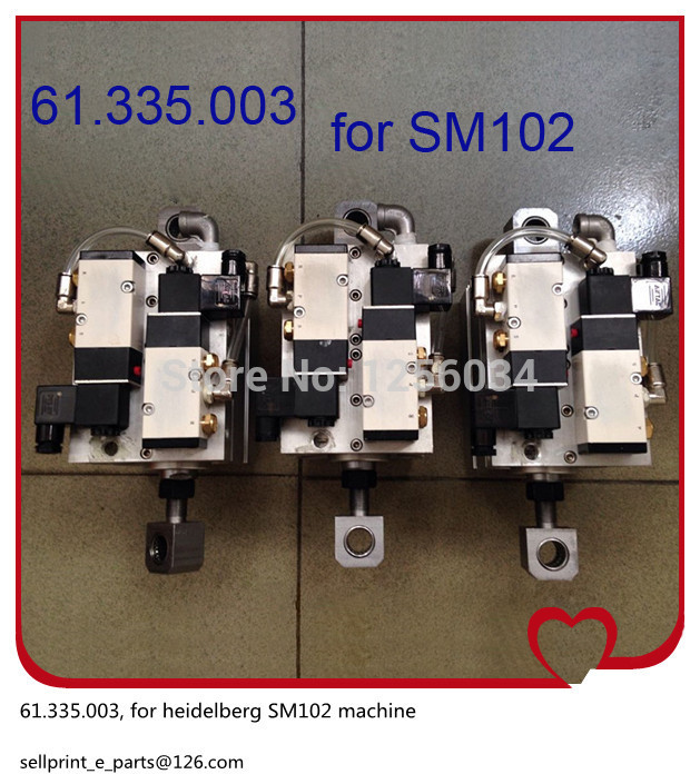 1 piece high quality Solenoid valve for Hengoucn SM102 61.335.0031 piece high quality Solenoid valve for Hengoucn SM102 61.335.003