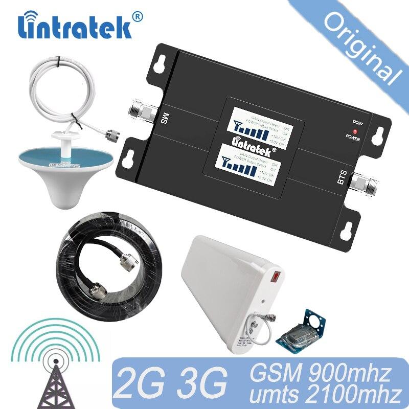 Livraison gratuite amplificateur de Signal cellulaire 3G Signal 900 2100 GSM UMTS amplificateur double bande répéteur GSM900 WCDMA 3G Booster 2G #14
