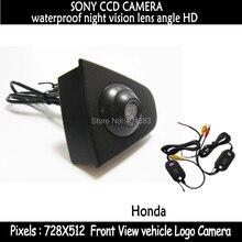 Беспроводной SONY CCD Водонепроницаемая Автомобильная Камера Заднего вида Автомобиля Обратная Передняя Камера для honda Odyssey Новый accord Crosstour Spirior CRV