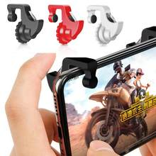 1Pair L1 R1 Gaming Trigger Smart Phone Games Shooter Controller Fire Button Handle For Rules of Survival/Knives Out(China)