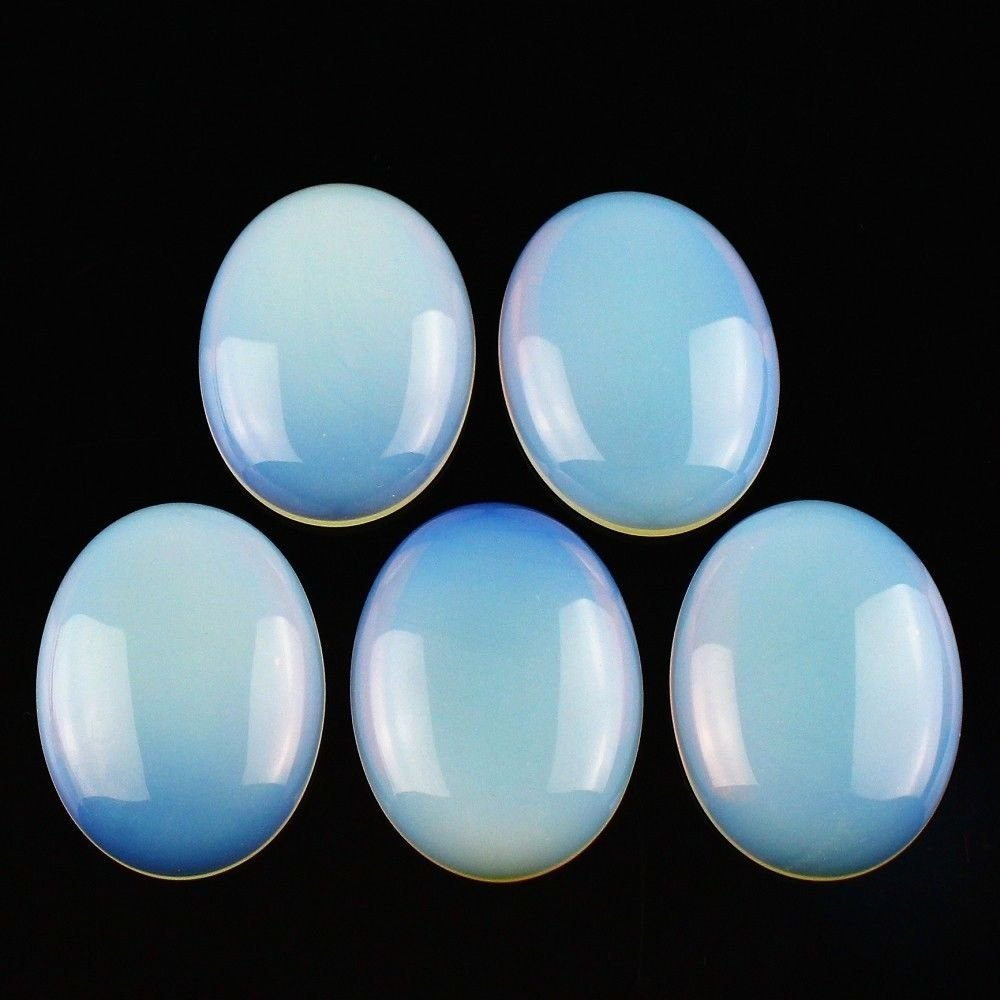 Натуральный камень каменный Агат e Кабошон бусины 22*30 мм плоское дно драгоценный камень каменный Кабошон для изготовления ювелирных изделий 10 шт./партия - Цвет: oplite 10pcs