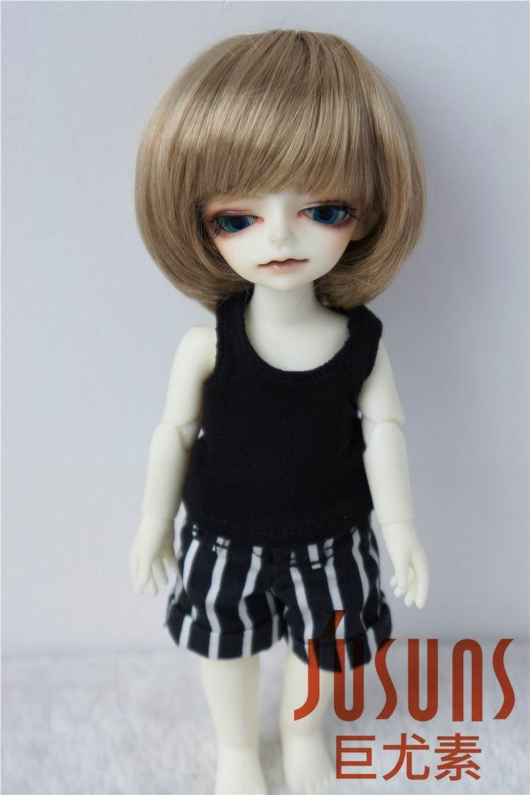 JD019 1/12 1/8 populaire garçon coupe courte perruque de poupée BJD - Poupées et accessoires - Photo 4