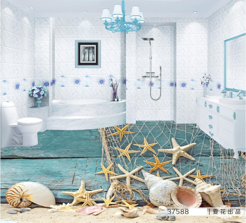 3D Floor Decor Creative Custom 3d Floor Mediterranean