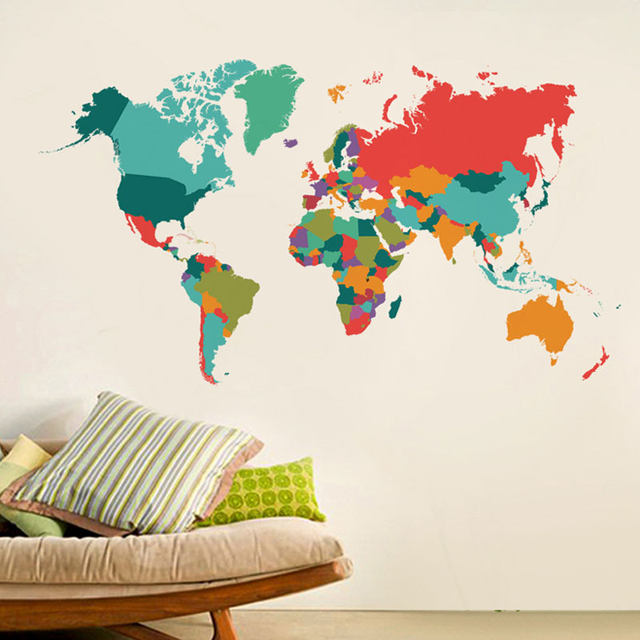 World map mural self adhesive 4k pictures 4k pictures full hq oceans world political map mural standard antique oceans world map mural abstract neon world map photo wallpaper woven self adhesive wall image is gumiabroncs Image collections