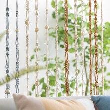 3 шт., креативные тканые струнные веревки, перегородки, занавески, занавески, потолочные крыши, украшения, подвесные, комнатные, воздушные, подвесные, струнные сетки для экрана