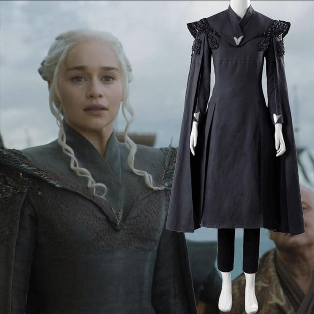 game of thrones saison 7 daenerys targaryen kleid cosplay. Black Bedroom Furniture Sets. Home Design Ideas