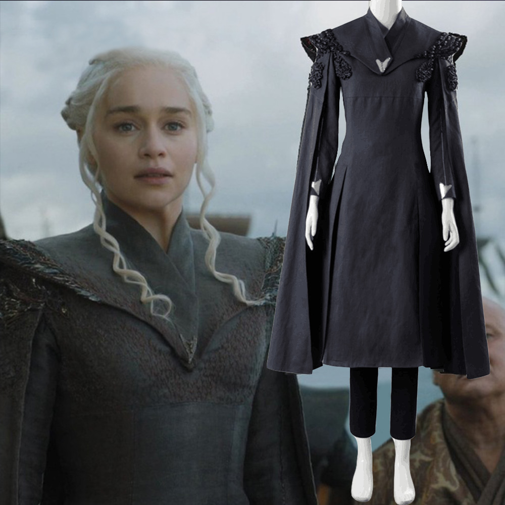 Game of Thrones Season 7 Daenerys Targaryen Dress Cosplay