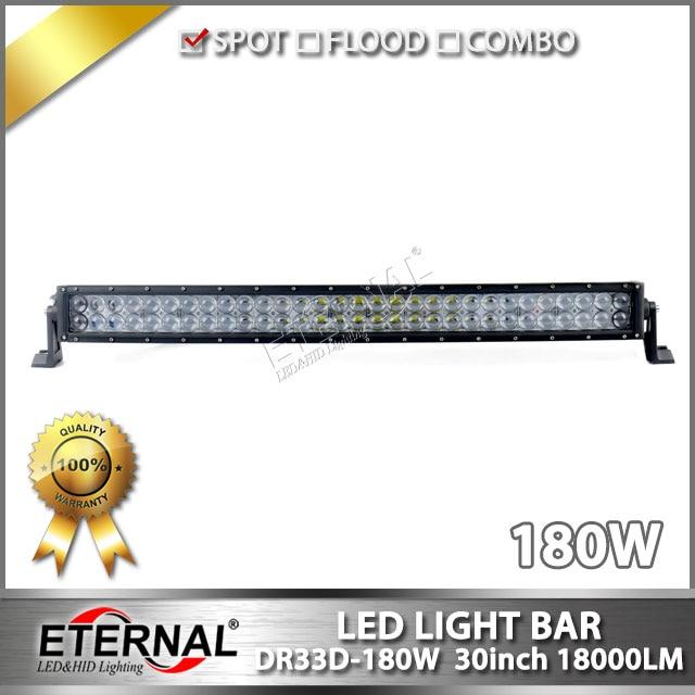 ФОТО wholesale 2pcs-180W curved light bar 4x4 off road excavator crane truck mining heavy duty equipment driving headight