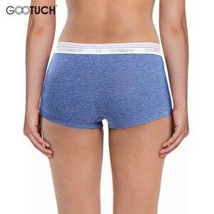 Image 3 - Women Cotton Panties Briefs Underwear Low Waist Boyshort For Female Safety Short Body Shaper Underwear Plus size Boxer shorts