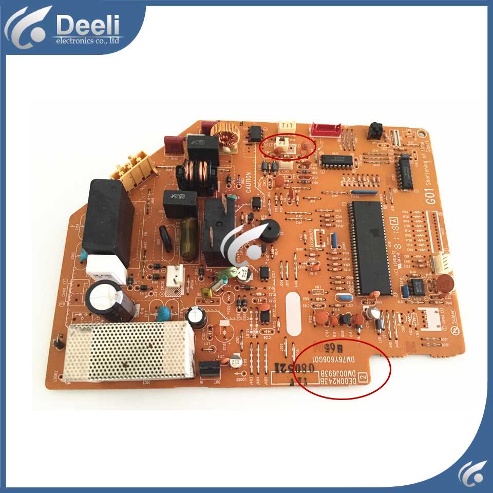 used good working for air conditioning computer board DE00N243B DM76Y606G01 control board original for tcl air conditioning computer board used board