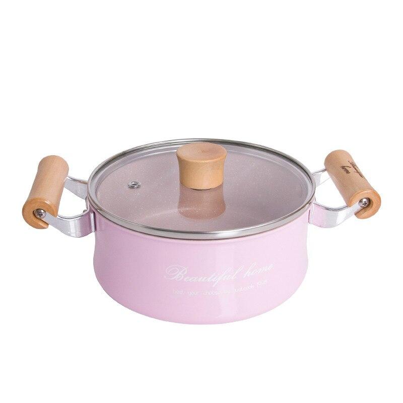 16 CM Creative No-Stick Pot Mini Milk Pan Sauce Pans Chocolate Soup Heating Pot General Use For Gas & Induction Cooker