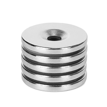 New 5pcs 25x3mm Hole 3mm N35 Strong Ring Magnet D Countersunk Rare Earth Neodymium Magnets Powerful Round Shape Permanent magnet ledere 5pcs lot y30 ring ferrite magnet 60 10 mm hole 32mm permanent magnet 60mm x 10mm black round speaker magnet 60x10