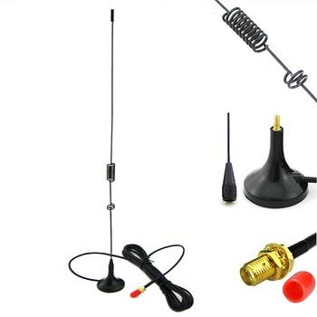 UT-106 magnetyczna sma-żeńska antena samochodowa VHF UHF do walkie-talkie Baofeng UV 82 UV-5R BF-888S GT-3TP GT-5 szynka akcesoria radiowe tanie i dobre opinie Portable Radio Walkie Talkie SMA-Female Dual Band UHF VHF 144 430MHz 34cm (Excludes the Base) Magnet Base for Baofeng UV-5R BF-888S etc