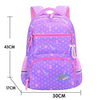2020 New Orthopedics Schoolbags Waterproof School Backpack For Kids Children 5