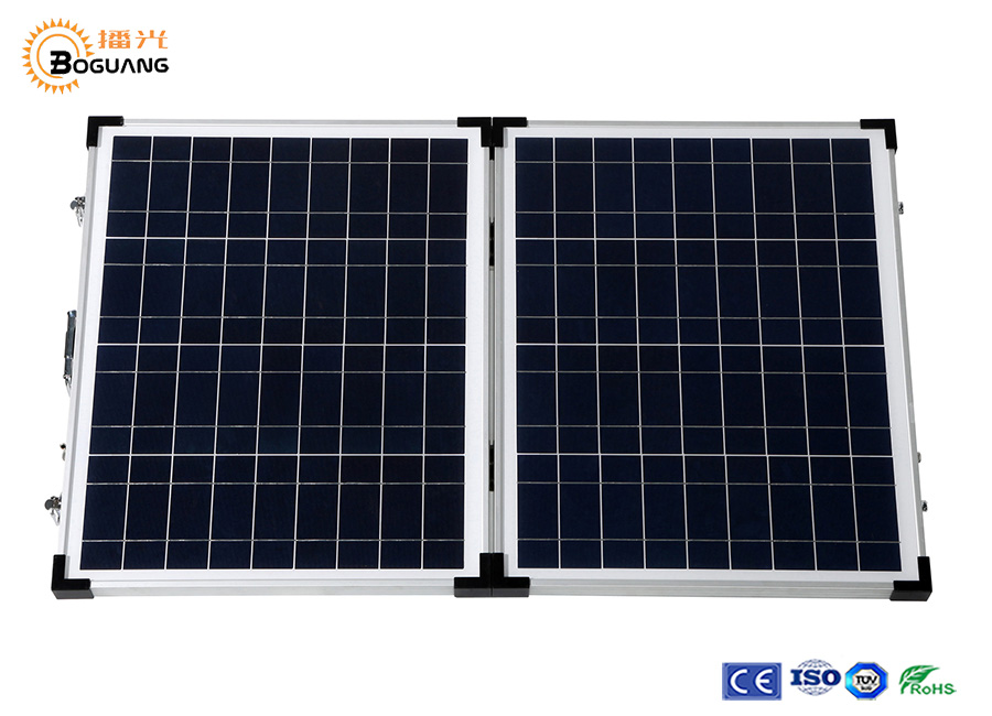 Solarparts 1x 40W Glass frame Polycrystallie Solar Module cell kit system panel high efficiency18V Camping Vacation outdoor use high efficiency solar cell 100pcs grade a solar cell diy 100w solar panel solar generators