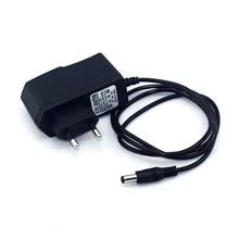 Адаптер постоянного тока 12V 1A AC 100-240V переходник адаптер Зарядное устройство блок питания ЕС вилка