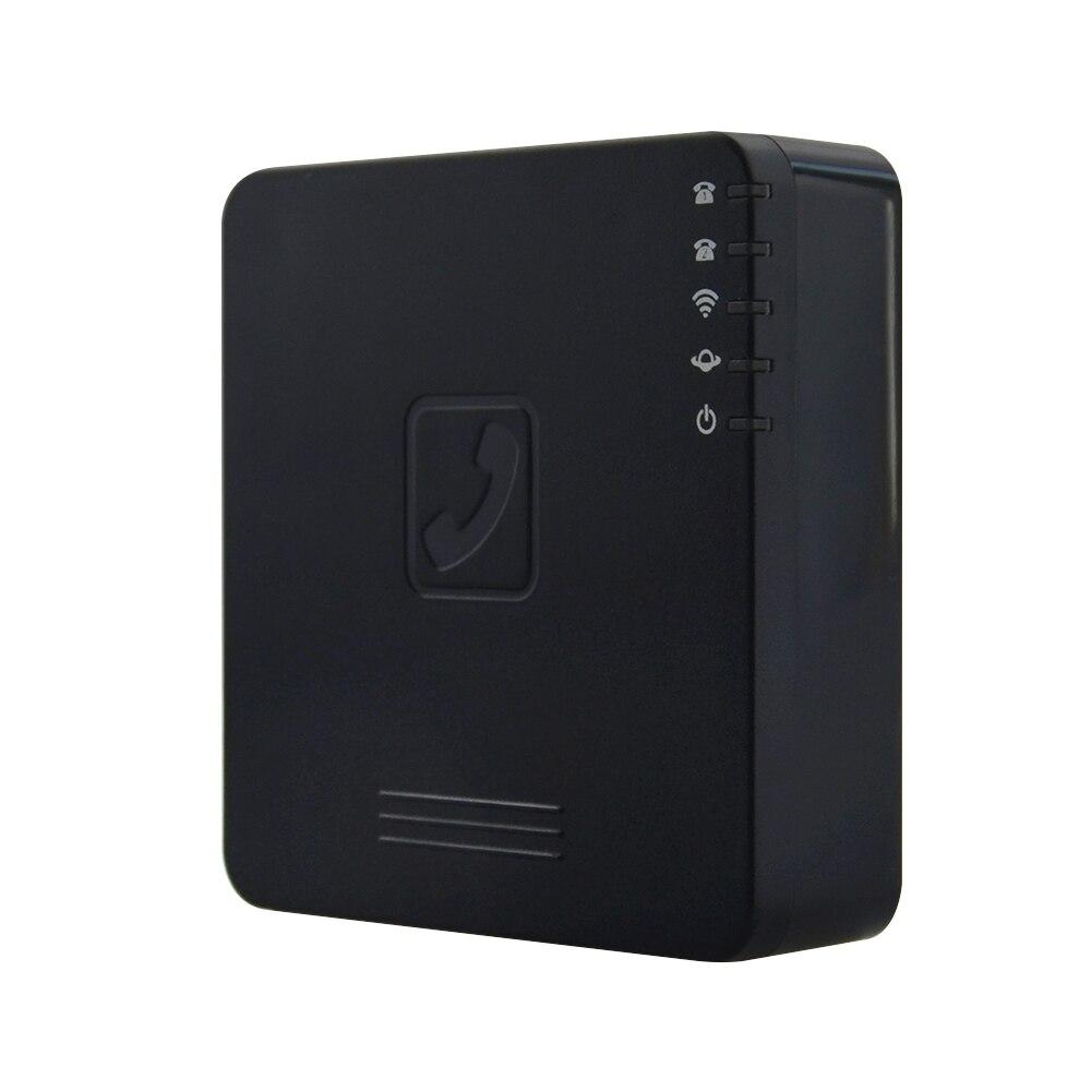 Livraison gratuite! routeur sans fil VoIP avec 2 ports voix sur IP GT202 avec WIFI SIP Gtalk sans fil ATA gateway GT202