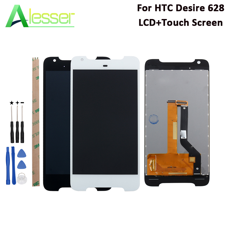 Alesser For HTC Desire 628 LCD Display And Touch Screen 5.0 Tested Assembly For HTC Desire 628 dual sim Phone +Tools +AdhesiveAlesser For HTC Desire 628 LCD Display And Touch Screen 5.0 Tested Assembly For HTC Desire 628 dual sim Phone +Tools +Adhesive