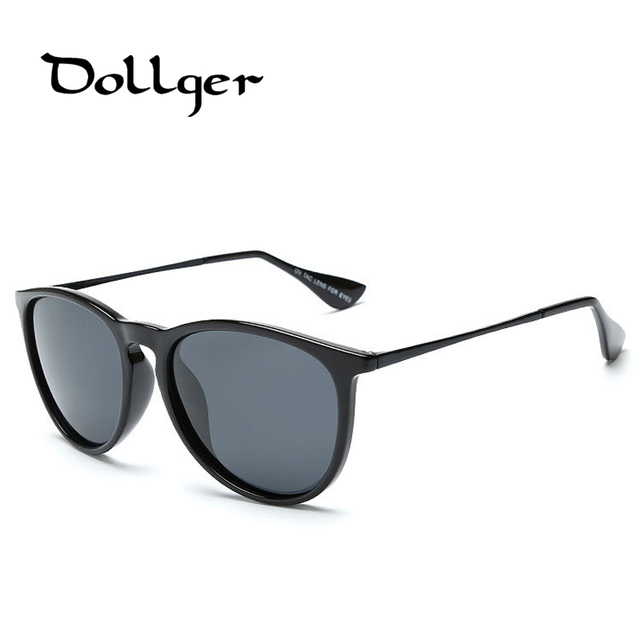 DOLLGER Women Sunglasses Brand Designer 2016 Polarized Luxury Retro Men Sun Glasses Polarized UV400 Original With Logo Box DG09