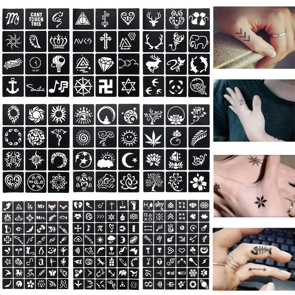 Finger Tattoo Frauenhand Mittelfinger Boot