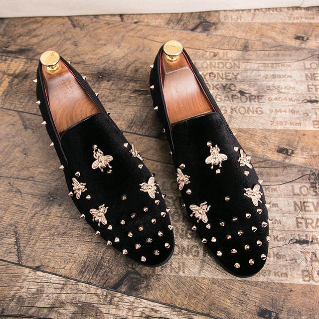 Men's Gold Top Dress shoes