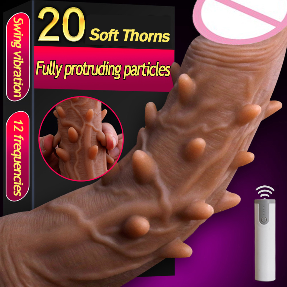 12 Speed Swing Vibrators Huge Realistic Dildos Vibrator Skin Feeling Soft Pens Suction Cup Adult Sex Products Sex Toys For Women12 Speed Swing Vibrators Huge Realistic Dildos Vibrator Skin Feeling Soft Pens Suction Cup Adult Sex Products Sex Toys For Women